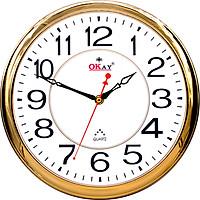 Đồng hồ treo tường thiết kế đẹp OKAY 195