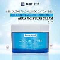 Kem Dưỡng Ẩm Chăm Sóc Da Toàn Diện DrHelens Seven Night's Ultimate Aqua Moisture Cream 100ml