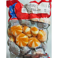 Bánh Bao Nhân Trứng Cá ( cam ) - phú mart