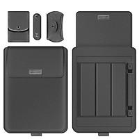 Bộ Túi Đựng Macbook Túi Đựng Laptop Mỏng Nhẹ Notebook Thông Minh Da PU Chống Nước