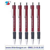 Combo 5 cây bút bi 0.7mm Thiên Long - TL036 màu đỏ