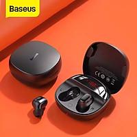 Tai nghe không dây TWS Baseus Encok True Wireless Earphones WM01 Plus (Bluetooth 5.0, Stereo Earbuds, Touch Control, Noise Cancelli)Hàng nhập khẩu .Giao màu ngẫu nhiên