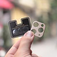 Bộ bảo vệ Camera cho iPhone 11/ iPhone 11 PRO/ iPhone 11 PRO MAX Cường Lực CAMERA + Khung viền Nhôm CAMERA- Hàng Chính Hãng