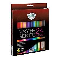 Bộ bút chì màu cao cấp Master Art Series 24 màu (Thái Lan)