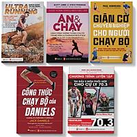 Sách - Combo Chạy Bộ - Dinh Dưỡng - Giãn cơ - Pandabooks