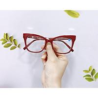 Gọng kính cận nữ MẮT KÍNH XANH mắt chữ nhật nhựa siêu nhẹ bền 97564