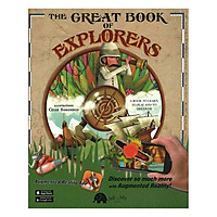 The Great Book Of Explorers (Augmented Reality) - Sách 3D