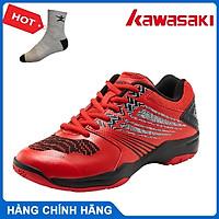 Giày cầu lông nam Kawasaki K163 - Tặng kèm tất Bendu chính hãng