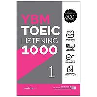 Sách - YBM Actual Toeic Tests LC 1000 - Vol 1