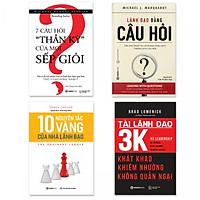 Combo 4 cuốn về Quản trị: Lãnh Đạo Bằng Câu Hỏi, 7 Câu Hỏi