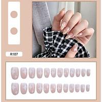 Bộ 24 móng tay giả nail thời trang như hình (R-107)