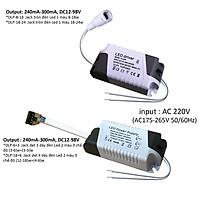 Nguồn drive tăng phô chấn lưu cho đèn Led panel ốp trần âm trần 9w 12w 18w 24w DLP-x-x