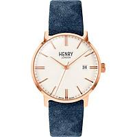 Đồng Hồ Nam Henry London HL40-S-0358 - Dây Da