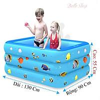 Bể Bơi Phao 3 Tầng Cao Cấp Đáy Chống Trượt Đủ Kích Cỡ Nhiều Hoạt Tiết Cho Bé