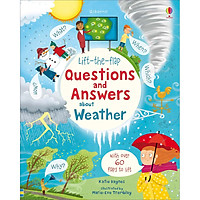 Sách Usborne Lift-the-Flap Questions and Answers: about Weather