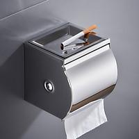Hộp đựng giấy vệ sinh PIENO có gạt tàn inox 304