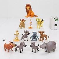Bộ 12 Mô Hình Nhân Vật Vua Sư Tử - The Lion King