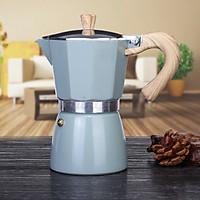 Bình Moka pha cà phê thiết kế theo  phong cách Ý cổ điển 3 cup 150ml nhỏ gọn tiện lợi