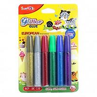 Keo Kim Tuyến Glitter SMARTKIDS 6 Màu (10.5ml/ Màu)