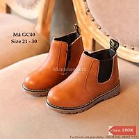 Giày Bốt Cổ Cao Cho Bé Trai Và Bé Gái GC40