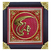 Tranh Đồng Thư Pháp Chữ Thọ Tôn Đản HP (60 x 60 cm)