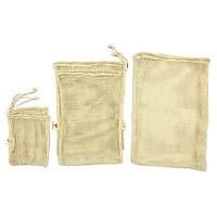 Túi lưới Giặt Đồ 100% Cotton, đựng Thực Phẩm, đi Siêu Thị, đi Chợ, đi Biển, sử đụng Đa Năng đủ size 3 Size M, L, XL, thân thiện với môi trường