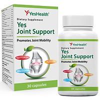 Thực phẩm bảo vệ sức khỏe Yes Health Yes Joint Support [Hộp 30 viên]- Viên uống hỗ trợ làm trơn ổ khớp, giúp khớp vận động linh hoạt và giảm nguy cơ thoái hóa khớp