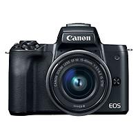 Máy Ảnh Canon M50 Kit 15-45mm IS STM (Hàng Chính Hãng) - Tặng Thẻ 16GB + Túi Máy + Tấm Dán LCD