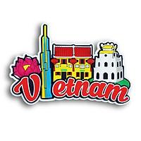 Nam châm lưu niệm - Cảnh sắc Việt Nam 1 (Landmark)