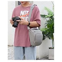 Túi máy ảnh thời trang EOS màu xám