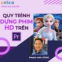 - Khóa học DỰNG PHIM - Quy trình dựng phim HD trên Adobe Premiere CC- UNICA.VN