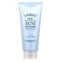 Sữa Rửa Mặt hỗ trợ Trị Mụn DHC Acne Control Fresh Foaming Wash (120ml)