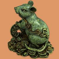 Tượng con chuột giáp to -CV072