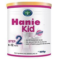 Sữa bột Hanie Kid 2 dành cho trẻ biếng ăn & suy dinh dưỡng 6-12 tháng tuổi (400g)