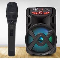 Bộ 1 Micro Karaoke Có Dây Chuyên Dùng Cho Loa Kéo, Amply, Vỏ Bằng Hợp Kim Chống Rơi Vỡ, Hút Âm Cực Tốt Model K370 - Chính Hãng
