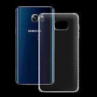 Ốp lưng cho Samsung Galaxy Note 5 - 01061 - Ốp dẻo trong - Hàng Chính Hãng