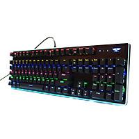 Bàn phím cơ Gaming Newmen GM550 RBG (LED RBG, quang cơ, Keycap đúc 2 lớp, kháng nước IP66) - Hàng chính hãng