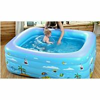 Bể bơi phao bơm hơi đủ kích thước cho bé từ 3 tuổi trở lên