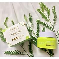 Kem ngừa mụn, trắng da JAVIN DE SEOUL YOUNG&RICH CICA CREAM Hàn quốc 50ml Kèm 1 mặt nạ trà xanh dabo