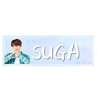 Banner cầm tay SUGA BTS
