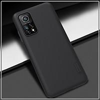 Ốp lưng cho Xiaomi Mi 10T - Mi 10T Pro Frosted Shield nhựa PC cứng Nillkin , Vân nhám , chống vân tay - Hàng nhập khẩu