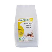 Bột mì trắng hữu cơ đa dụng T55 Markal 1kg