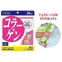 Viên Uống Collagen DHC Nhật Bản 30 Ngày (Tặng Kèm 1 Gói Bột Cần Tây Sitokata)