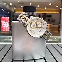 Đồng hồ nam dây thép Sunrise 1146-01SADemi, kính sapphire chống xước, chống nước