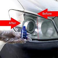 Dung Dịch Tẩy Rửa ố mốc làm mới Đèn pha cho xe hơi ô tô xe máy nhựa trong mica