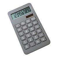 Máy tính để bàn cầm tay 10 chữ số Hiển thị năng lượng mặt trời & Pin nút cho học sinh trường học