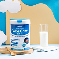 Sữa bột Colos Canxi Cá Tuyết chứa các dưỡng chất thiết yếu giúp bổ sung các loại vitamin hỗ trợ tăng sức đề kháng, chắc khỏe xương, phục hồi sức khỏe nhanh chóng