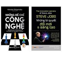 Combo Sách : Những Đế Chế Công Nghệ + Steve Jobs - Những Bí Quyết Đổi Mới Và Sáng Tạo