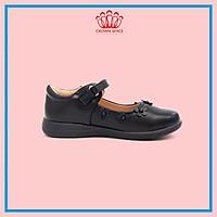 Giày Búp Bê Bé Gái Đi Học Đi Chơi Crown Space UK School Shoes CRUK3051 Nhẹ Êm Thoáng