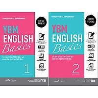 YBM English Basic 1 + 2: Tài Liệu Tự Học TOEIC Hiệ Quả Dành Cho Người Mới Bắt Đầu (Bộ 2 Tập)